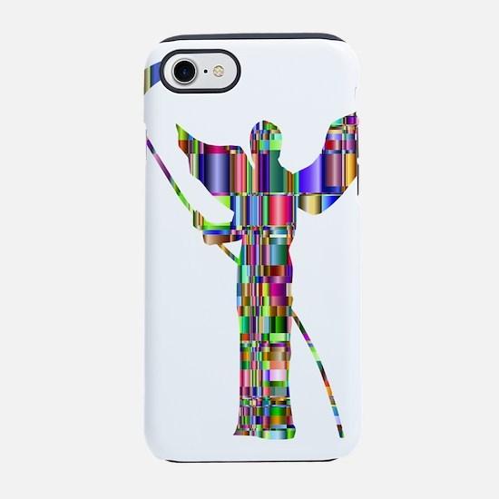 Prismatic Rainbow Angel of D iPhone 8/7 Tough Case