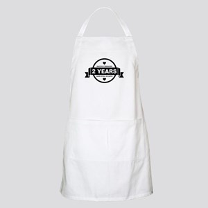 Happily Married 2 Years Apron