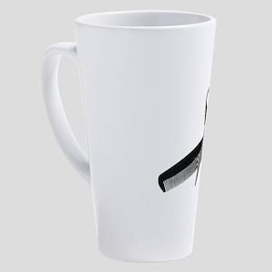 ScissorsComb052010 17 oz Latte Mug
