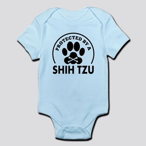 Protected By A Shih Tzu Body Suit
