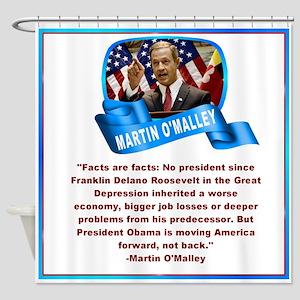 Martin OMalley Shower Curtain
