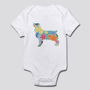 Brown Dog Fall Infant Bodysuit
