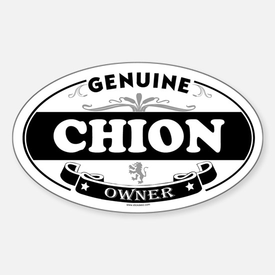 CHION Oval Decal