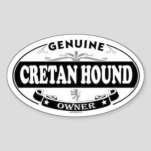 CRETAN HOUND Oval Sticker