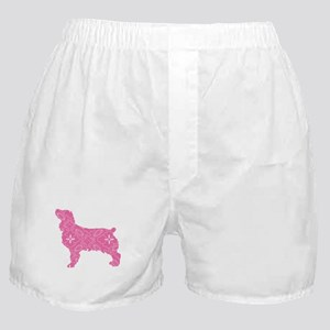 Brown Dog Fall Boxer Shorts