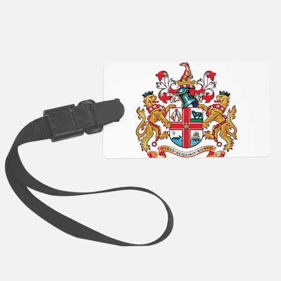 Melbourne Coat of Arms Luggage Tag