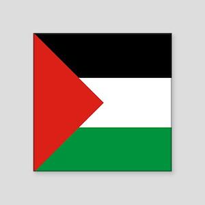 Square Palestinian Flag Sticker