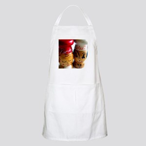 Vintage Salt & Pepper Shakers BBQ Apron