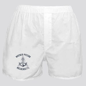 Wicked Pissah, Boston MA Boxer Shorts