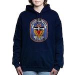 USS RICHMOND K. TURNER Women's Hooded Sweatshirt