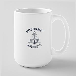 West Roxbury, Boston MA Large Mug