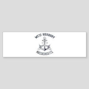 West Roxbury, Boston MA Sticker (Bumper)