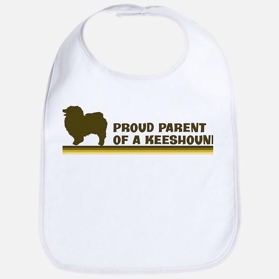 Keeshound (proud parent) Bib