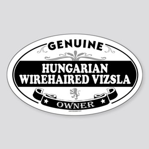 HUNGARIAN WIREHAIRED VIZSLA Oval Sticker