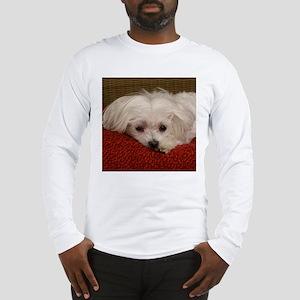 Cute Maltese Long Sleeve T-Shirt