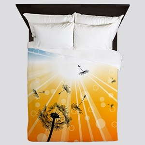 summer feelings Queen Duvet