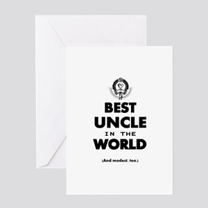 The Best in the World – Uncle Greeting Cards