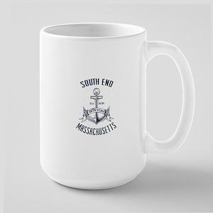 South End, Boston, MA Large Mug