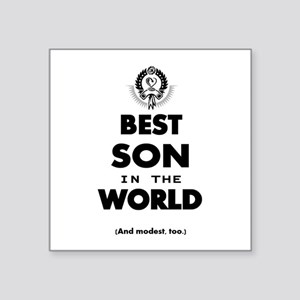 The Best in the World – Son Sticker