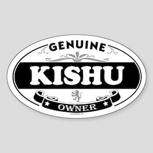 KISHU Oval Sticker