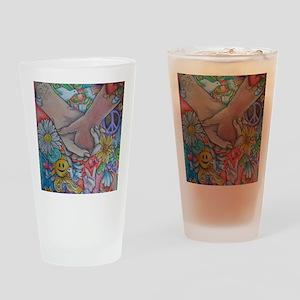 Choose Peace Drinking Glass