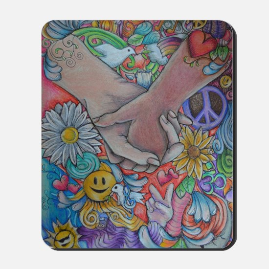 Choose Peace Mousepad