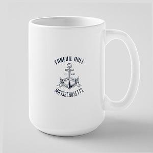 Faneuil Hall, Boston, MA Large Mug