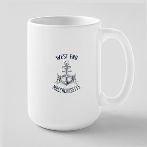 West End, Boston MA Large Mug