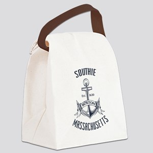 Southie, Boston MA Canvas Lunch Bag