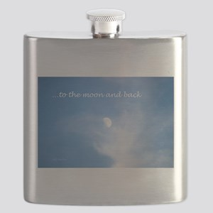 ...to the moon and back Flask