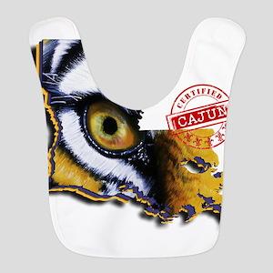 Certified Cajun Tiger Eye LA Bib