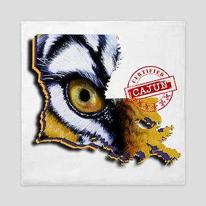Certified Cajun Tiger Eye LA Queen Duvet