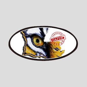 Certified Cajun Tiger Eye LA Patch