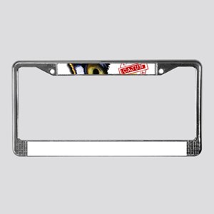 Certified Cajun Tiger Eye LA License Plate Frame