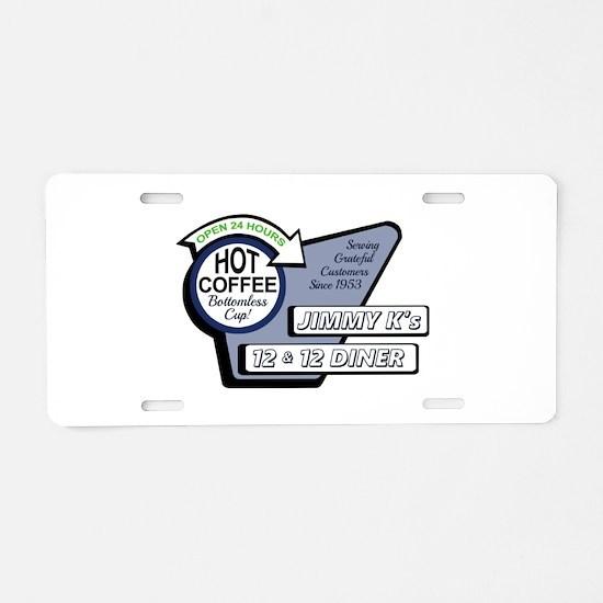 Jimmy K Aluminum License Plate