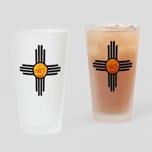 Zia Sun Sky Drinking Glass