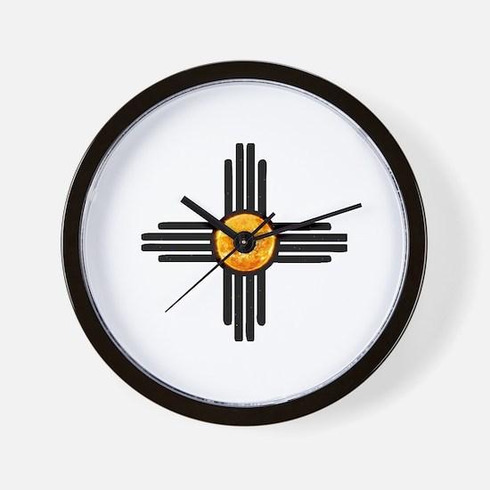 Zia Sun Sky Wall Clock