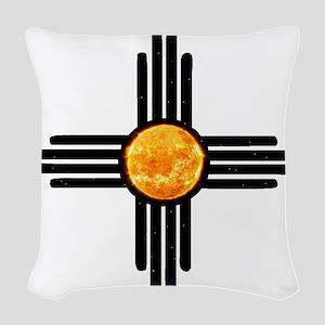Zia Sun Sky Woven Throw Pillow