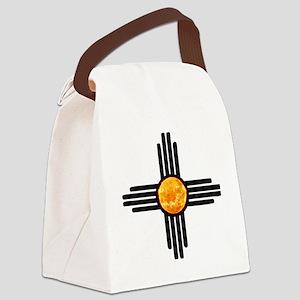 Zia Sun Sky Canvas Lunch Bag