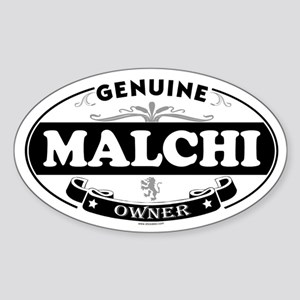 MALCHI Oval Sticker