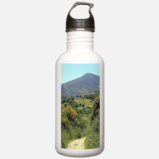 Mountains on El Camino Water Bottle
