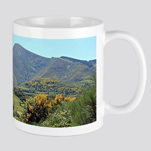 Mountains on El Camino near O'Cebreiro, Spain Mugs