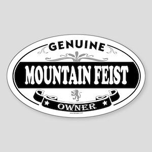 MOUNTAIN FEIST Oval Sticker