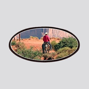 Monument Valley Horse & Rider, Utah, USA Patch