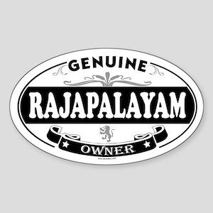 RAJAPALAYAM Oval Sticker