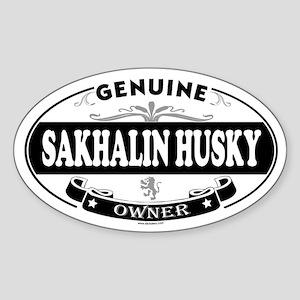 SAKHALIN HUSKY Oval Sticker