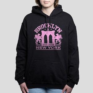 Brooklyn New York Est. 1 Women's Hooded Sweatshirt