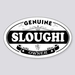 SLOUGHI Oval Sticker
