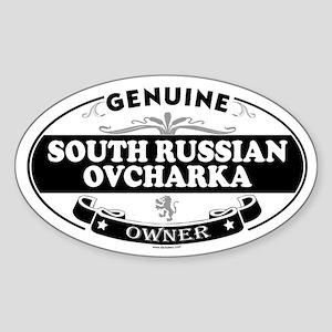SOUTH RUSSIAN OVCHARKA Oval Sticker
