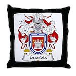Guardia Family Crest Throw Pillow